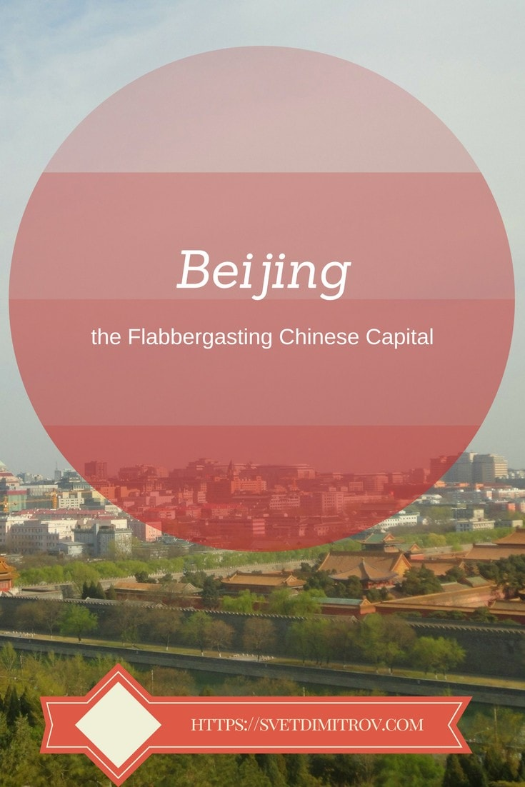 Beijing, Chinese Capital, Forbidden City, Pinterest Image