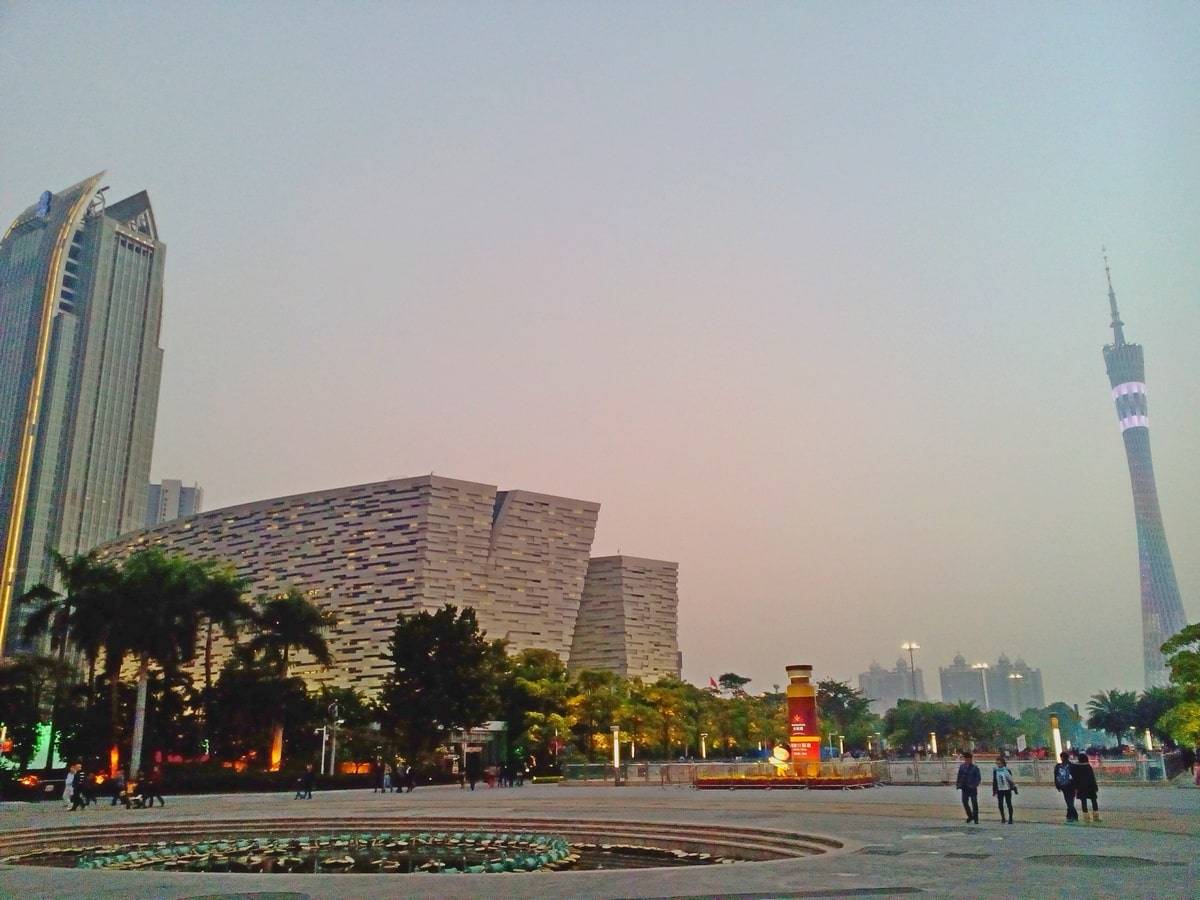Guangzhou Library, Zhujiang New Town, China