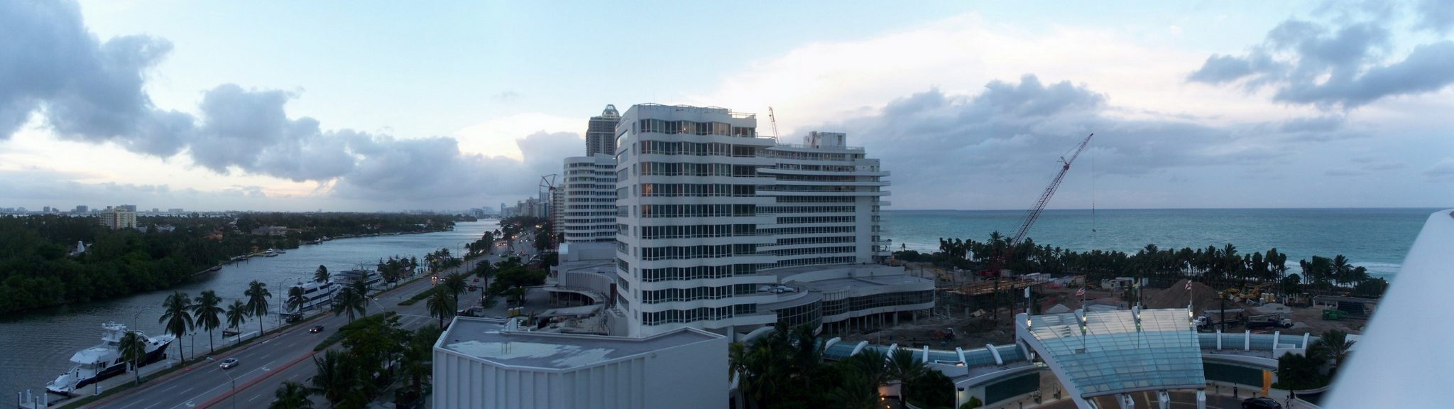 Miami, Bay and ocean view, South Beach