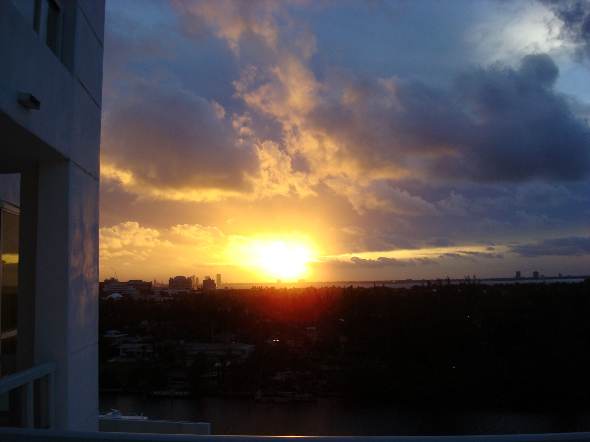 Sunset, Miami, South Beach