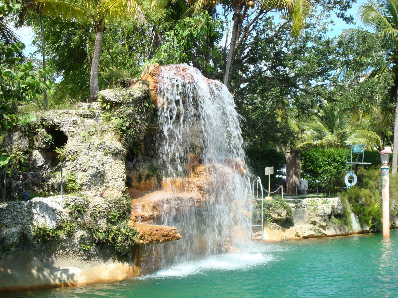 Venetian Pool, Waterfall, Miami