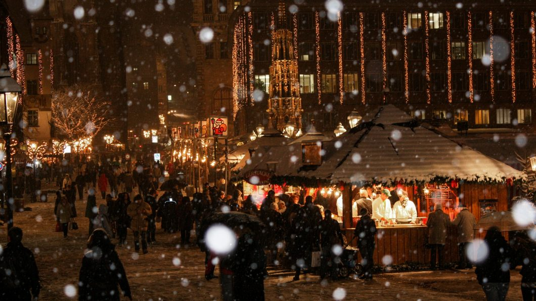 Christmas Market in Nuremberg, Germany, Miracle Happens