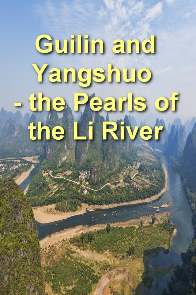 Guilin, Yangshuo, Li River Cruise, Pinterest Image