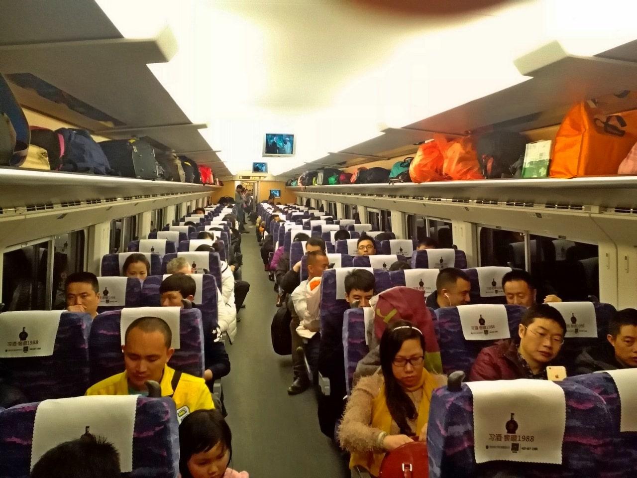 CRH Bullet Train, Guilin Guangzhou, Li River Cruise