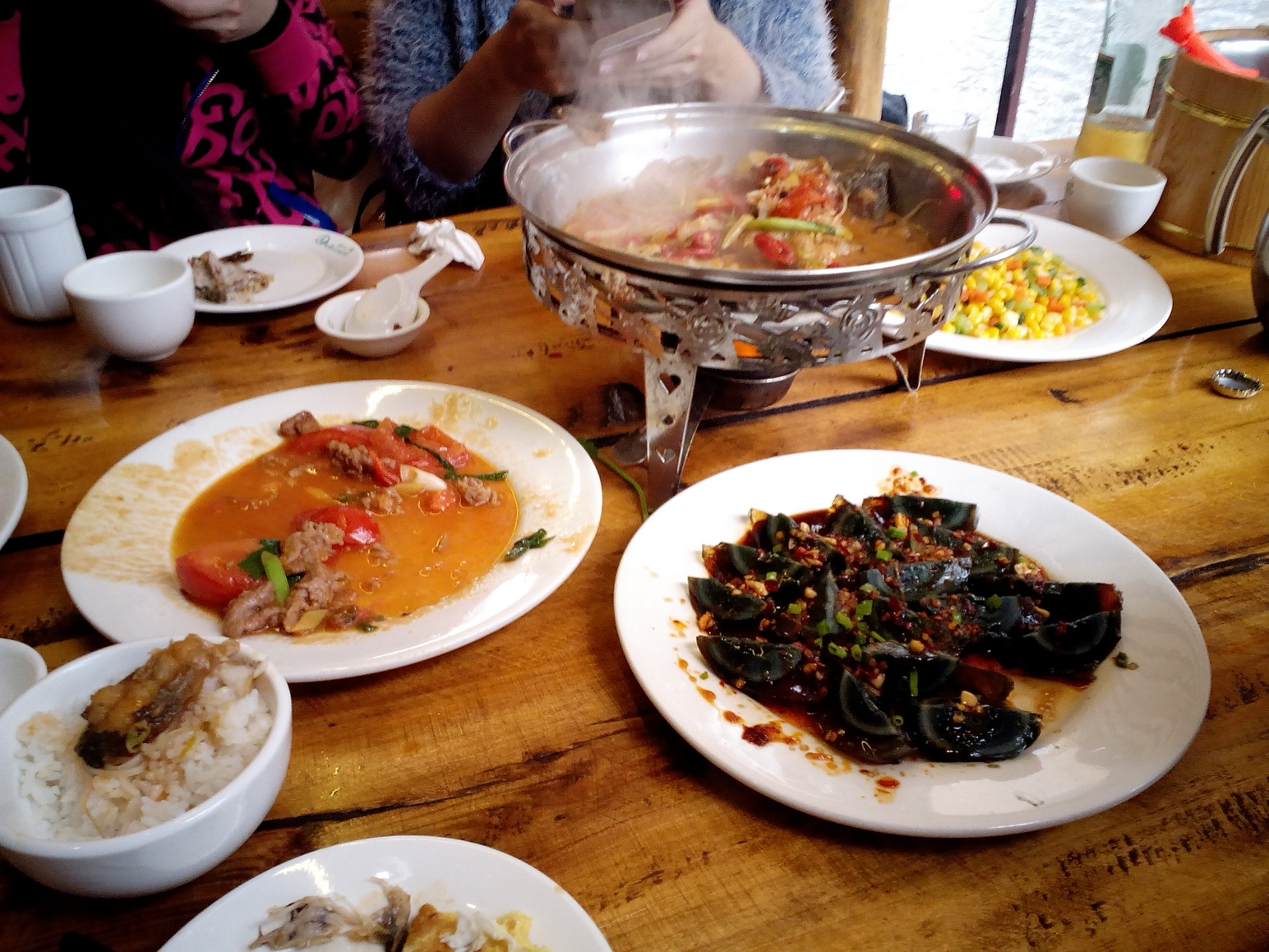 Yangshuo, Guilin meal, China