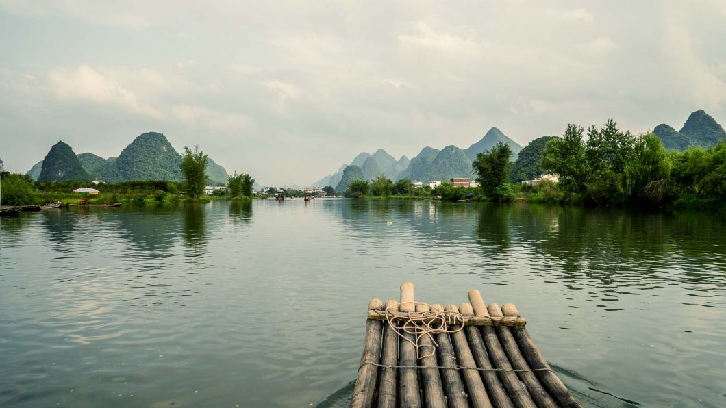 Things to do in Guilin and Yangshuo, Li River Bamboo Boat Trip