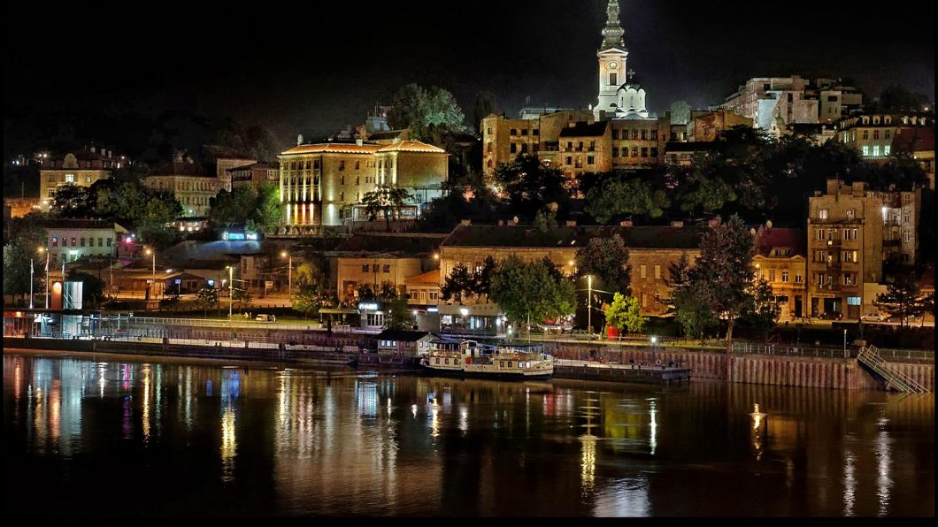 Belgrade_at_night_Srbija