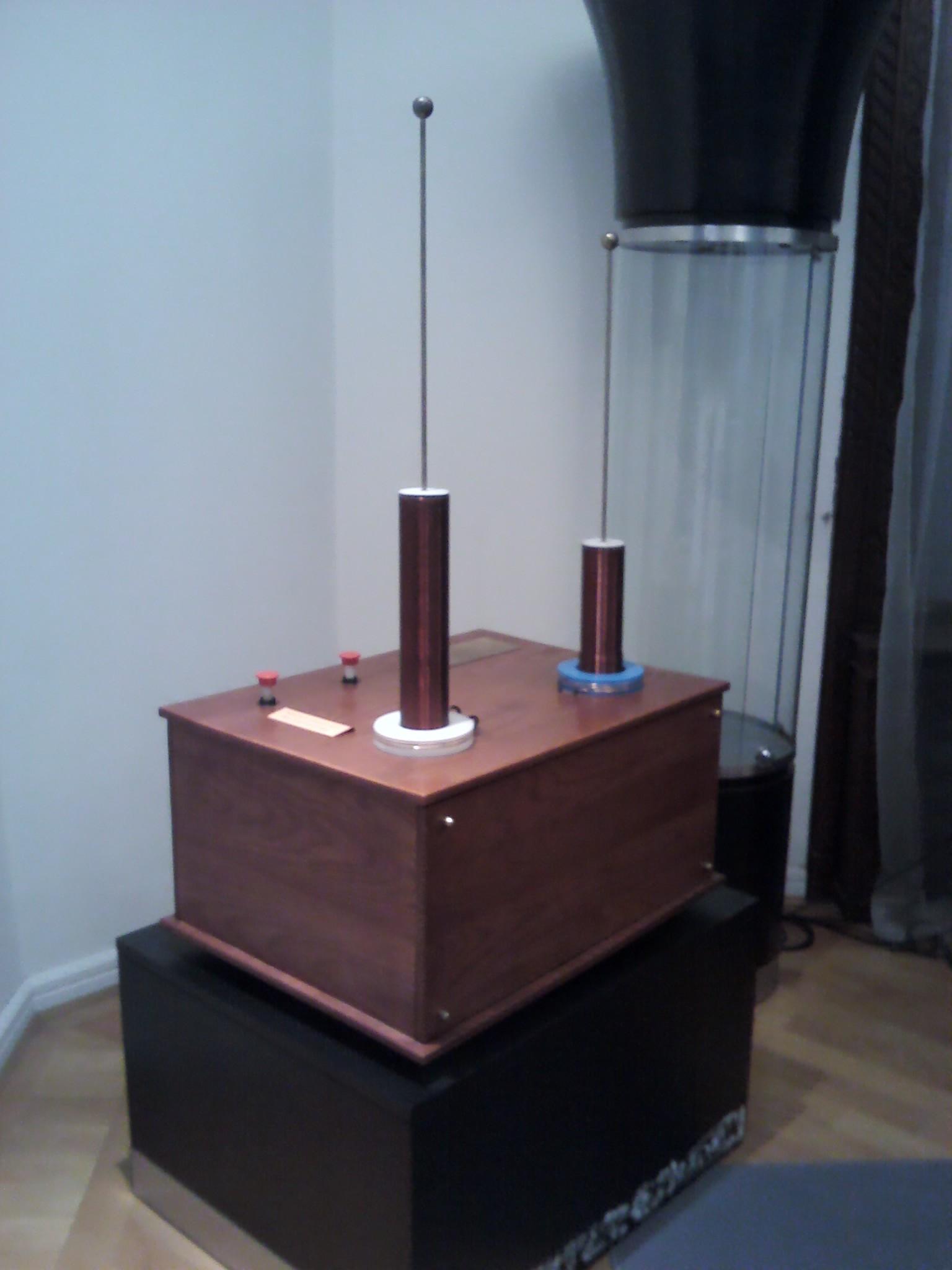 La_première_télécommande, Tesla Museum