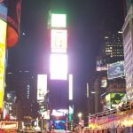 New York city featured image times square at night
