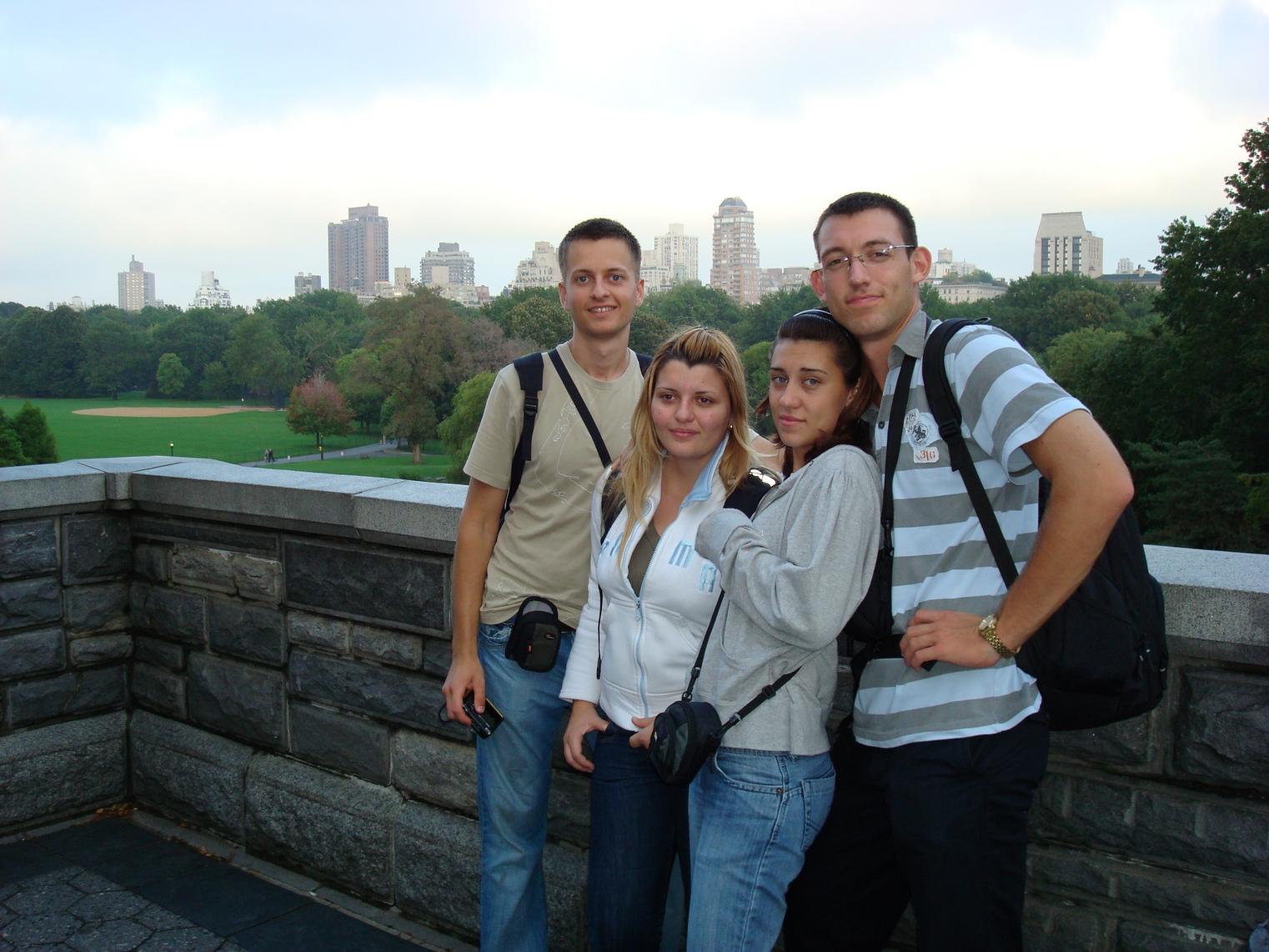 New York City, Central Park, the Group, Manhattan Skyline