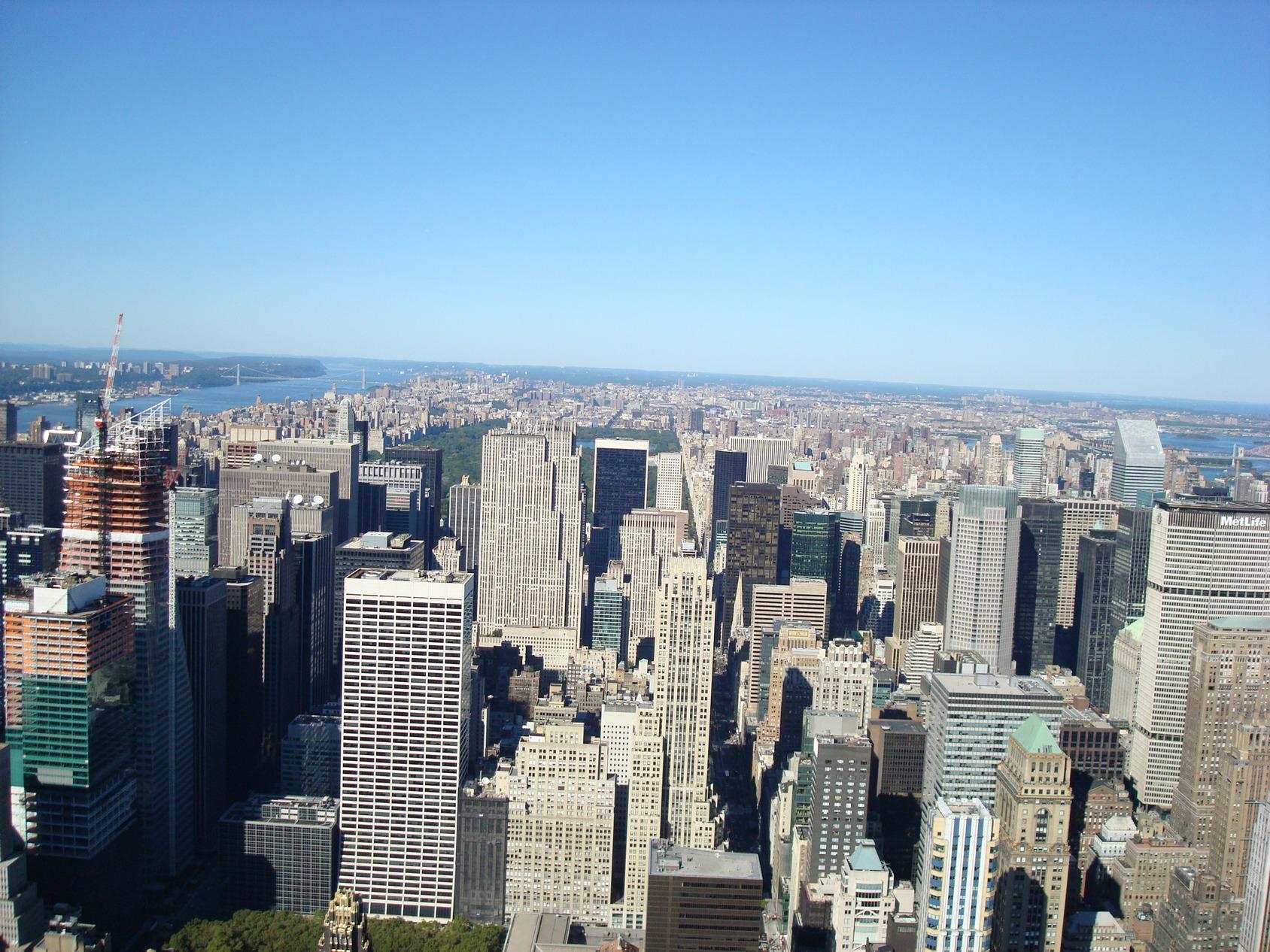 New York City_EmpireStateBuildingObservatory_ViewofCentralPark_UpperManhattan