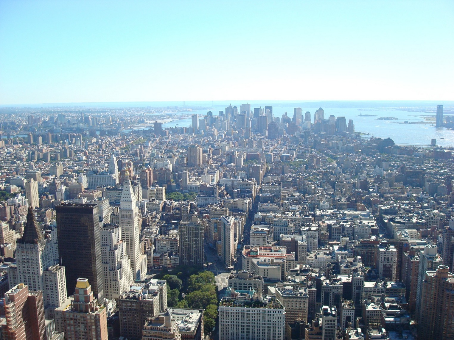 New York City_EmpireStateBuildingObservatory_ViewofLowerManhattan_FlatironBuilding