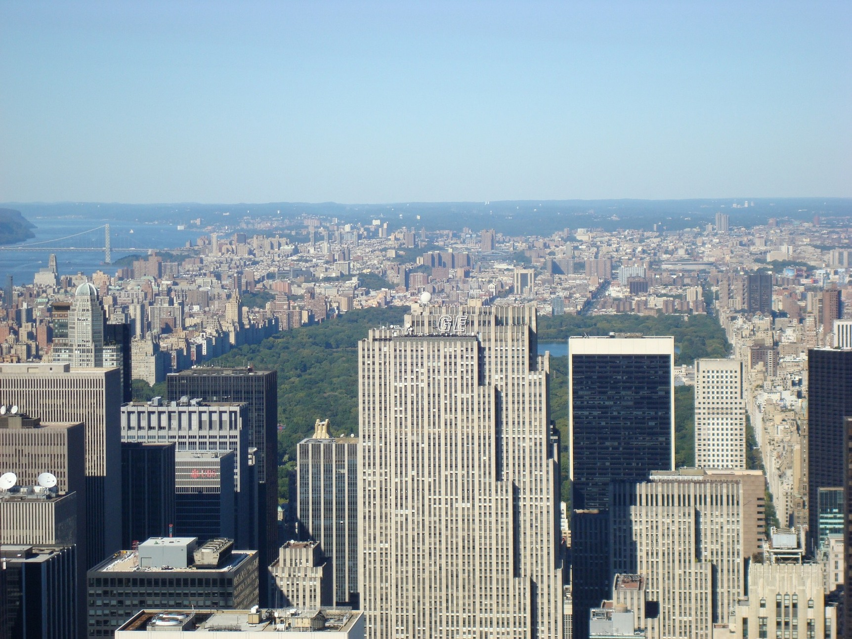 New York City_Closer shot of Central Park