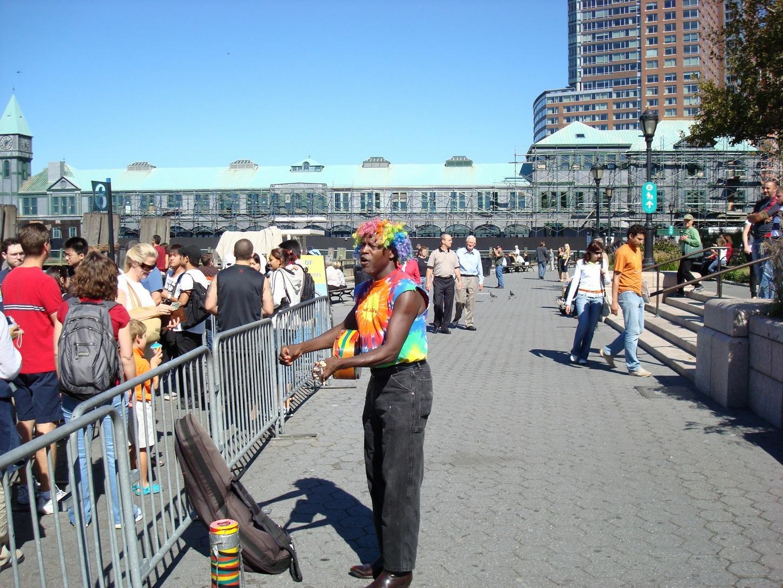 New York City_LowerManhattan_QueuelineforStatueofLiberty_BatteryPark