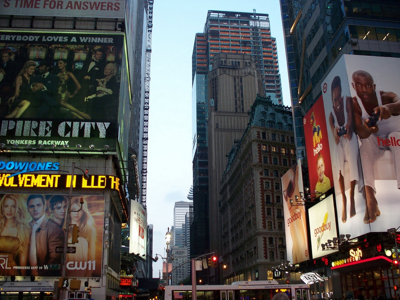 New York City, Manhattan_ApproachingTimesSquare