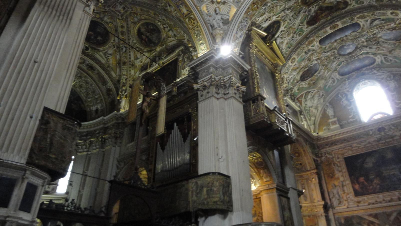 Bergamo Italy Bergamo Cathedral Upper City