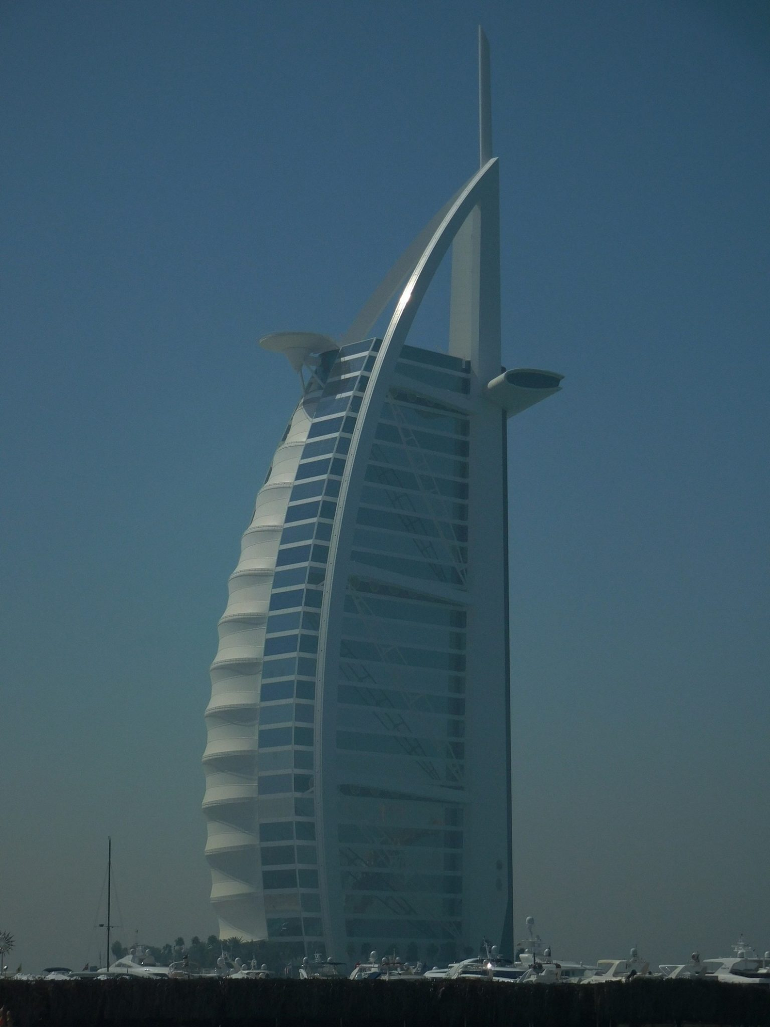Dubai Kite Beach Burj Al Arab Close Shot
