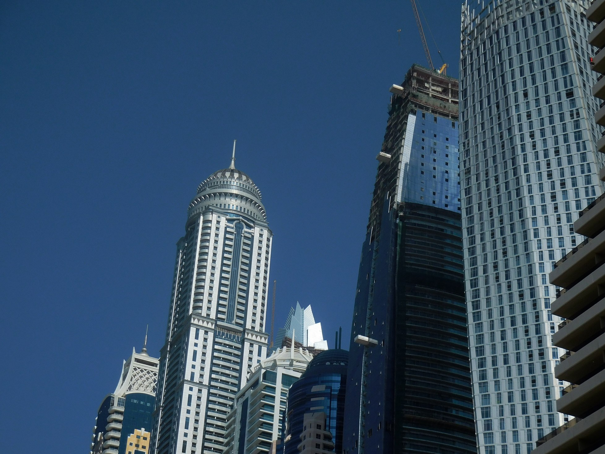 Dubai Marina Princess Tower Highest Residential Building