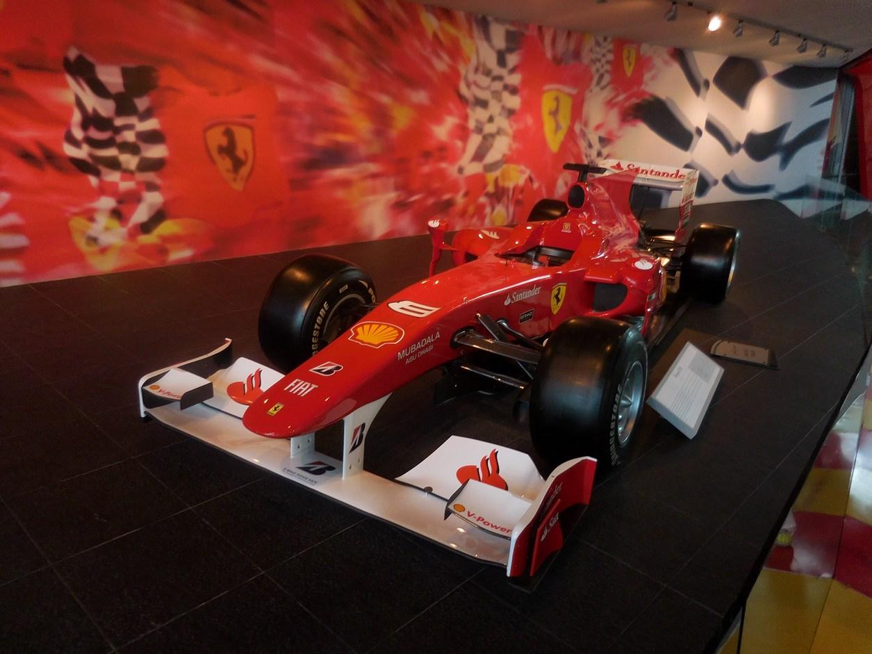 Abu Dhabi, Ferrari World, Formula One Ferrari Race Car, UAE