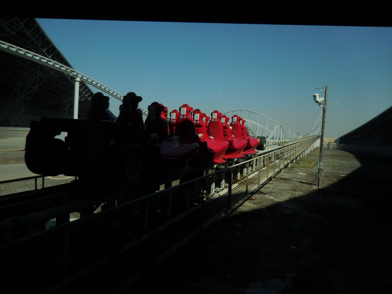Abu Dhabi, Ferrari World, Formula Rossa, Ready to be Torpedoed, UAE
