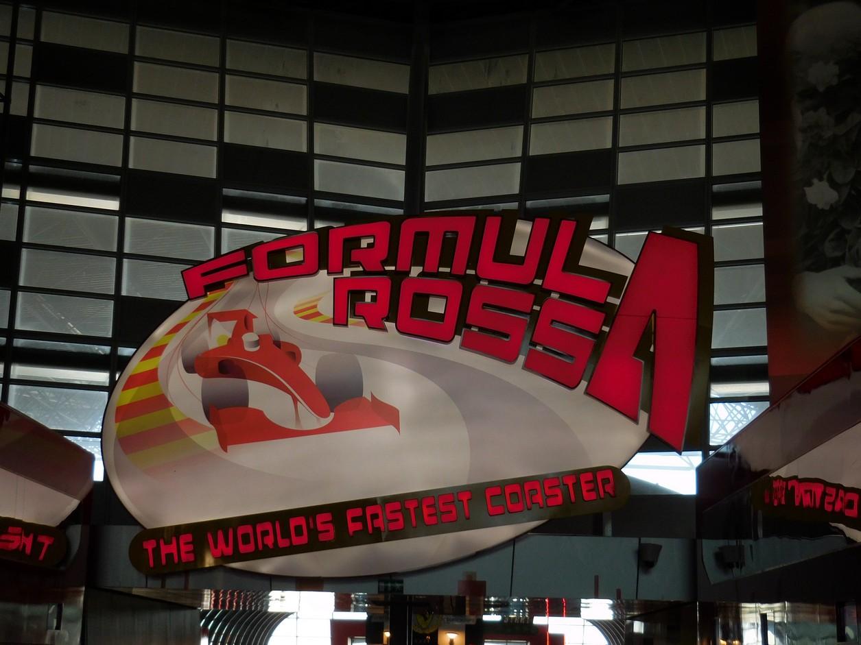 Abu Dhabi, Ferrari World, Formula Rossa Ride, UAE