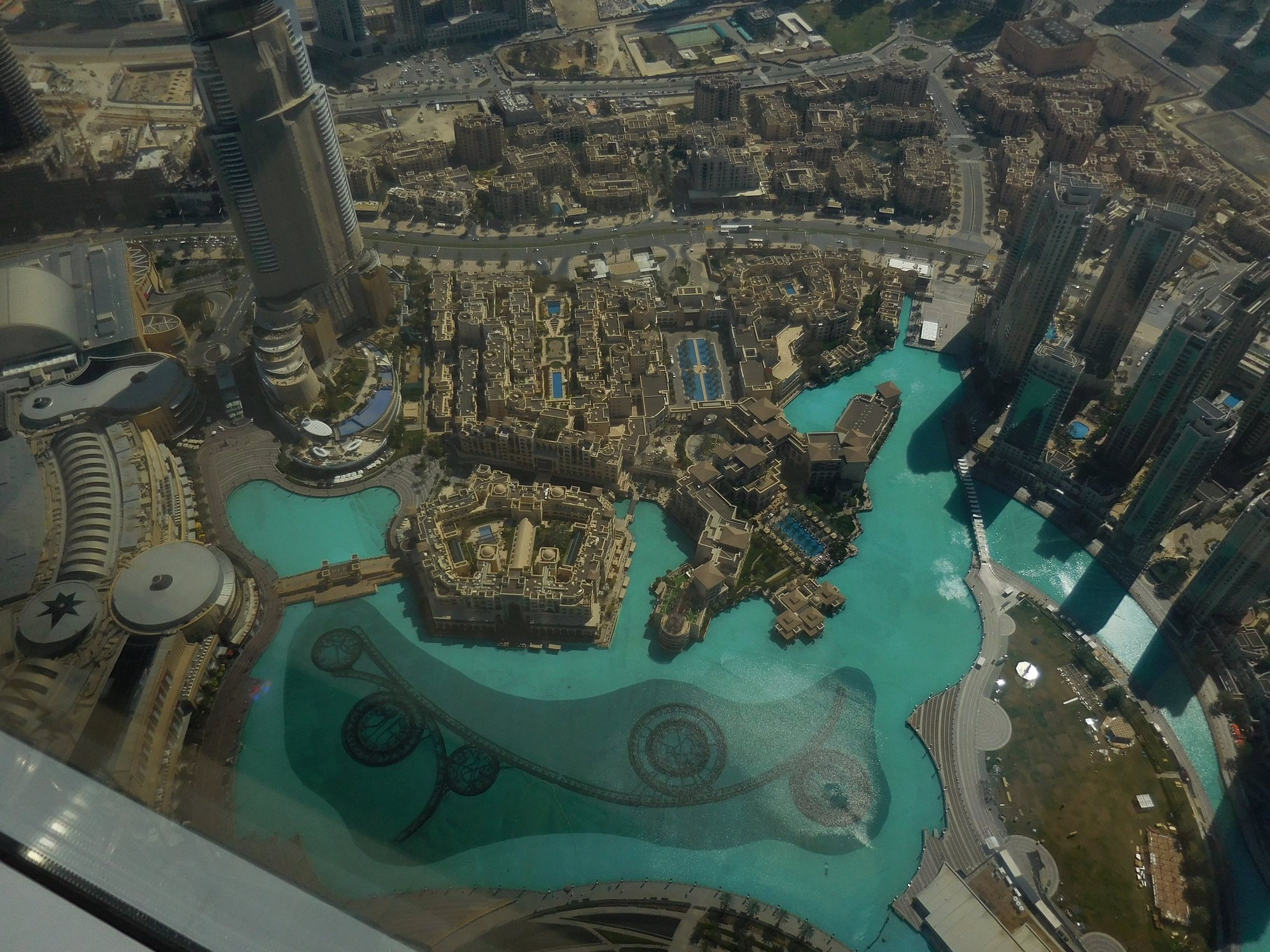 Dubai, Burj Khalifa, Bellagio Fountains, Observatory, UAE
