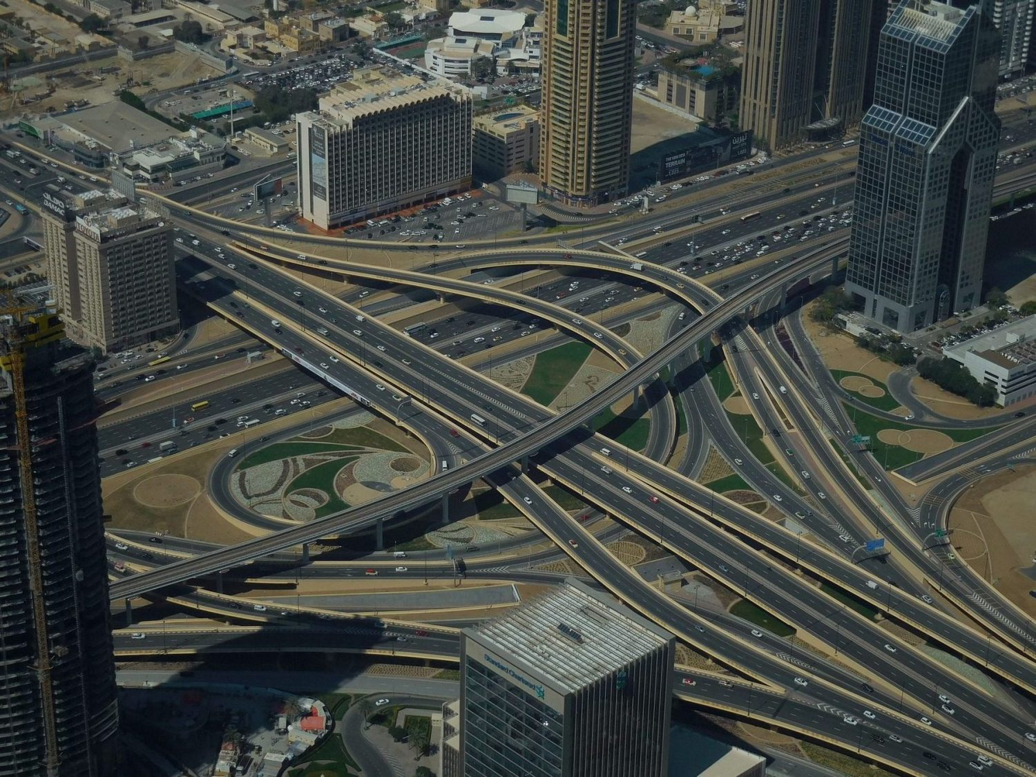 Dubai, Burj Khalifa, Crossroads in the Desert, UAE