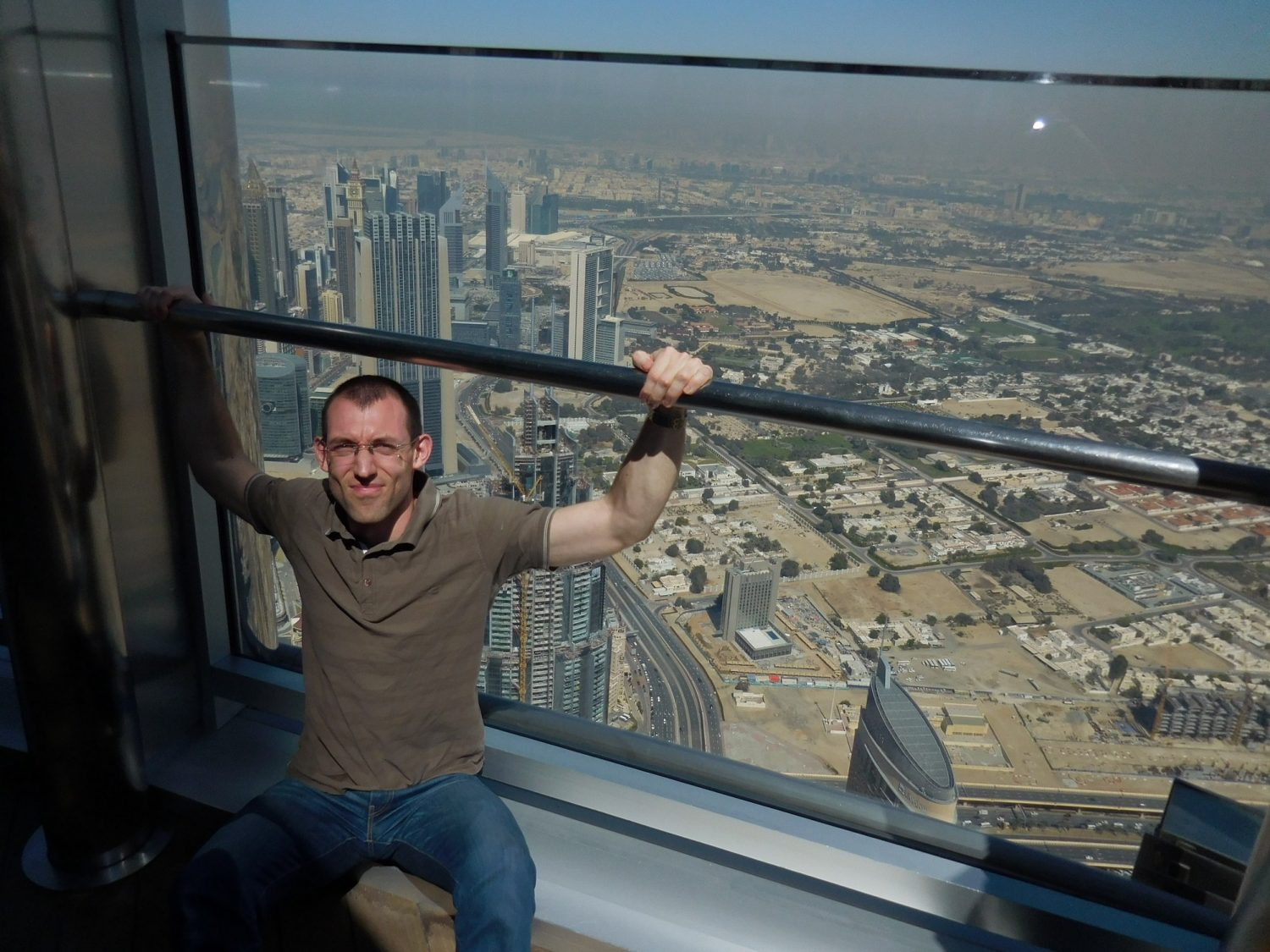 Dubai, Burj Khalifa, Open-Air Observation Deck, UAE