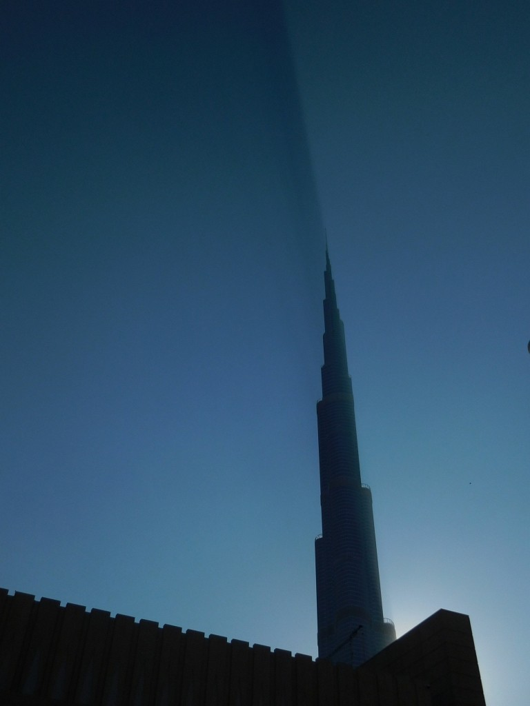 Dubai, Burj Khalifa, Stupefying Shadow, UAE