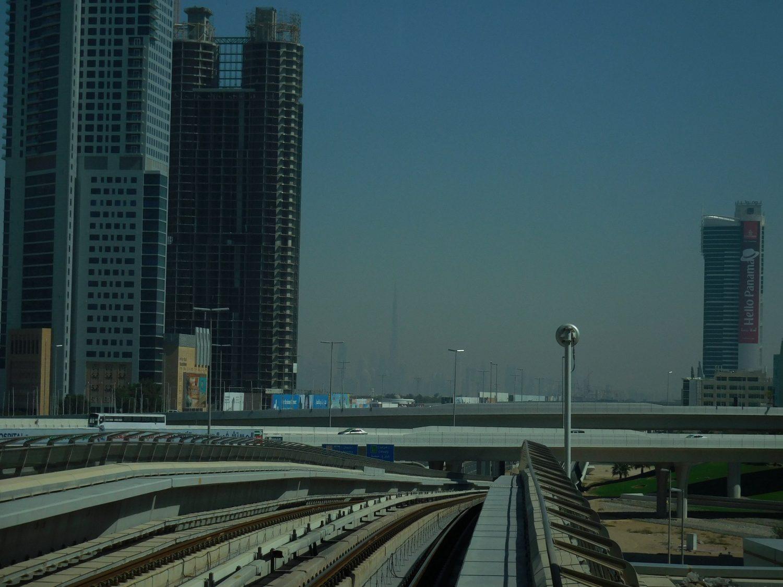 Dubai Metro Burj Khalifa Front Row Seat, UAE