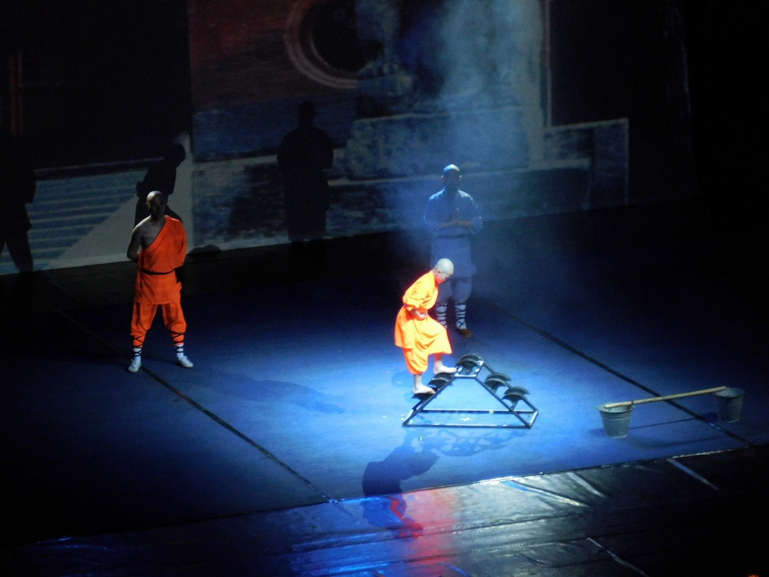 Shaolin monks, Blade Walking, Youg Noble Man, Sofia, Bulgaria