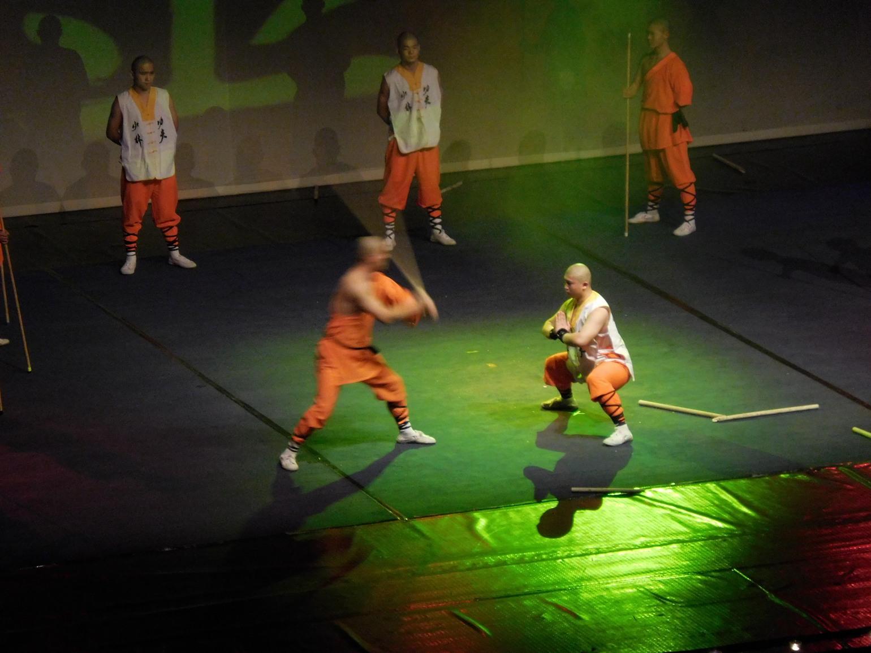 Shaolin monks, Break the Stick on my Head, Sofia, Bulgaria