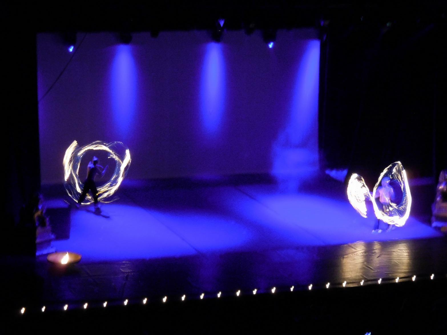 Shaolin monks, Spectacular Fire Dancing, Sofia, Bulgaria