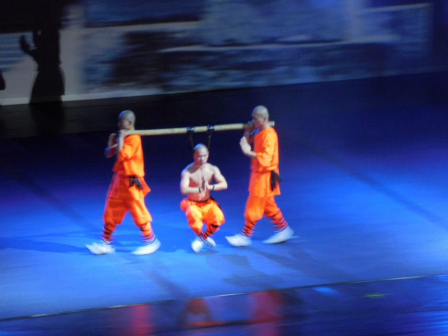 Shaolin monks, Hang Me and Carry Me Around, Sofia, Bulgaria