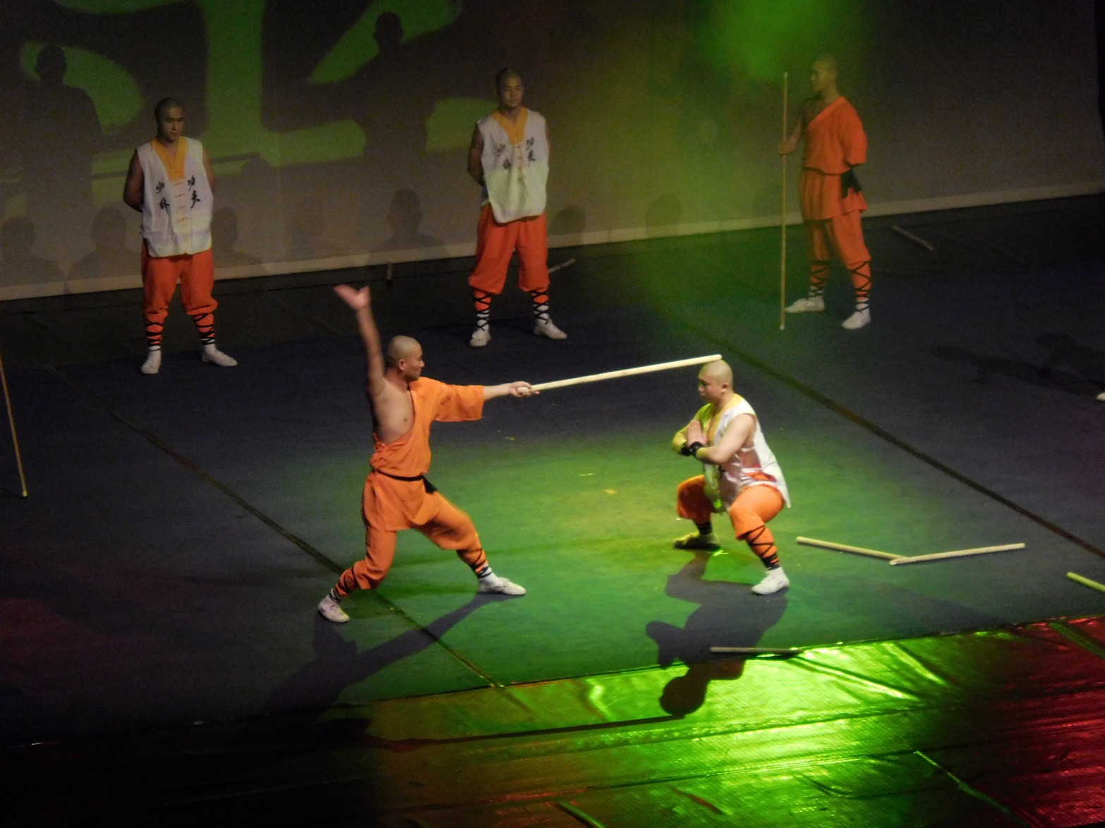 Shaolin monks, My Head is Invincible, Sofia, Bulgaria