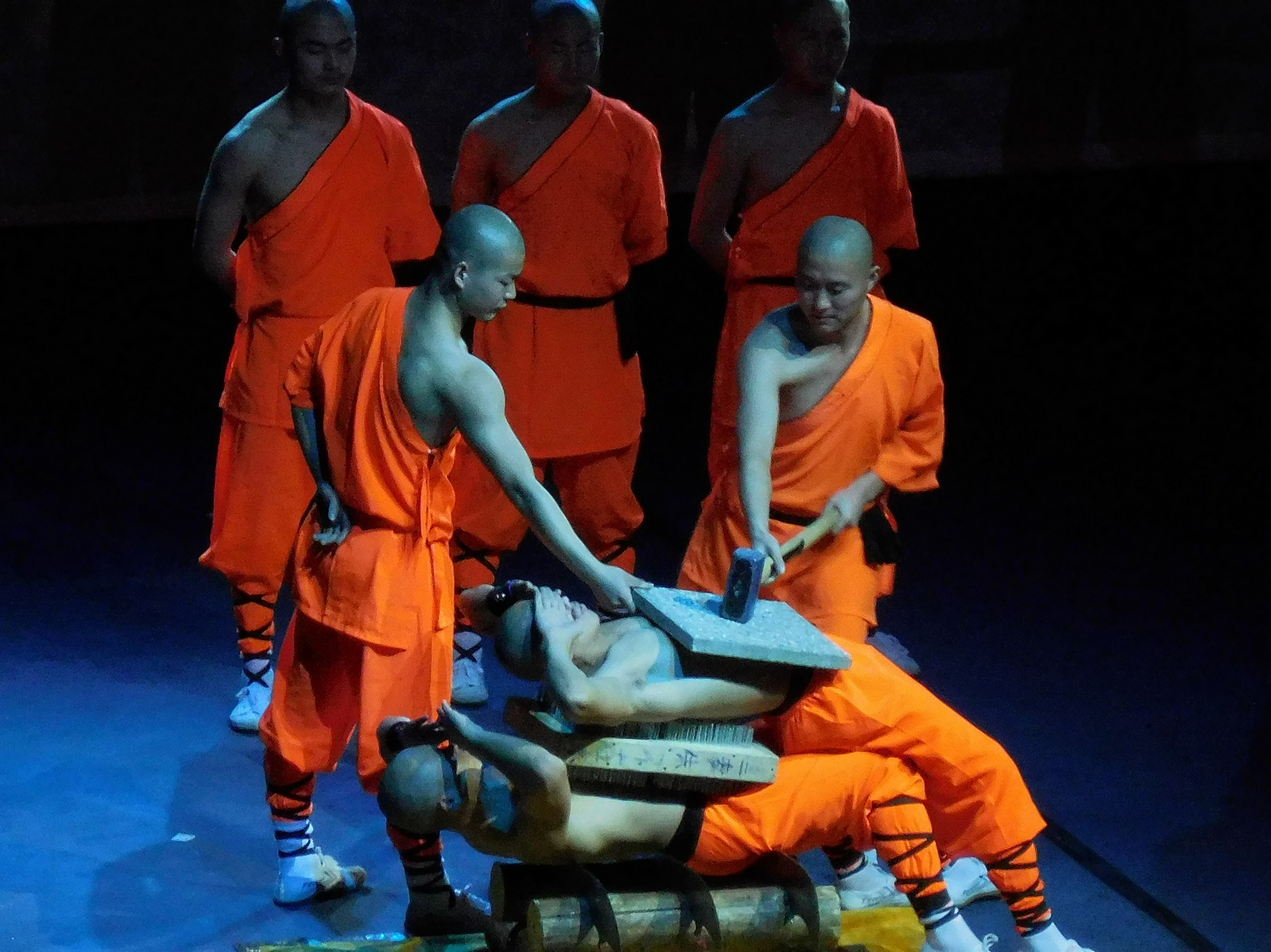 Shaolin monks, Unbelievable Strength, Sofia, Bulgaria