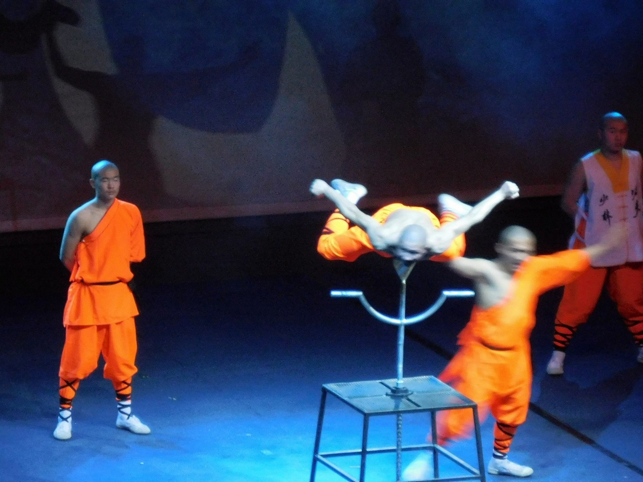 Shaolin monks, the Flying Monk, Sofia, Bulgaria