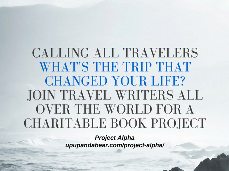 Project Alpha,Travel Writers Wanted, Charitable book Project