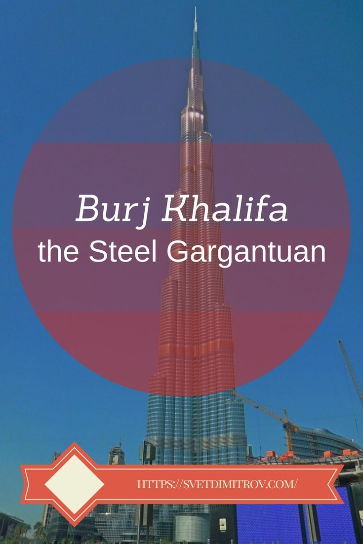 The tallest man-made building in the world, Burj Khalifa, has a fascinating history of contrusction.