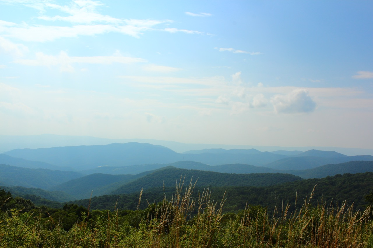 8000 miles trip - Blue Ridge Parkway, Virginia, USA