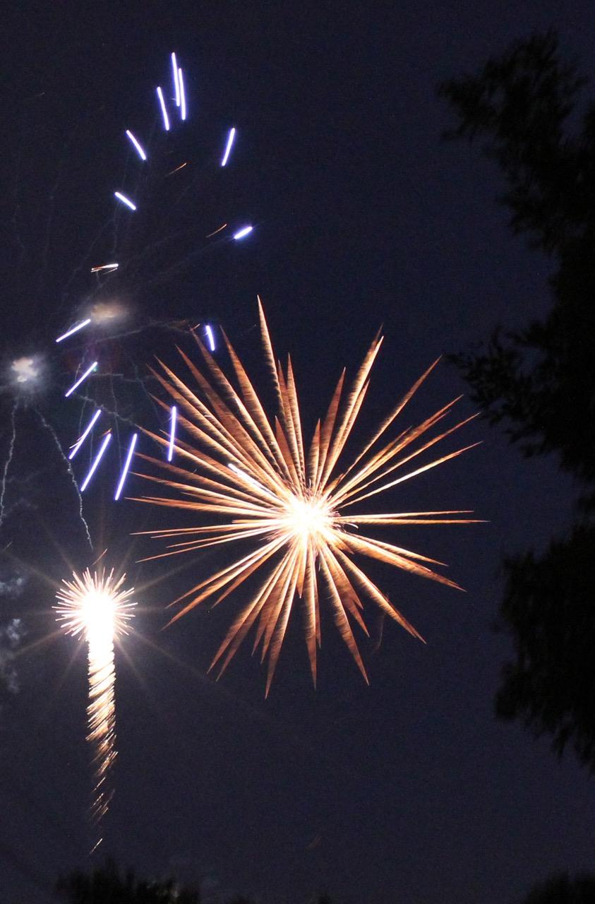 8000 miles trip - Fireworks in Minneapolis, USA