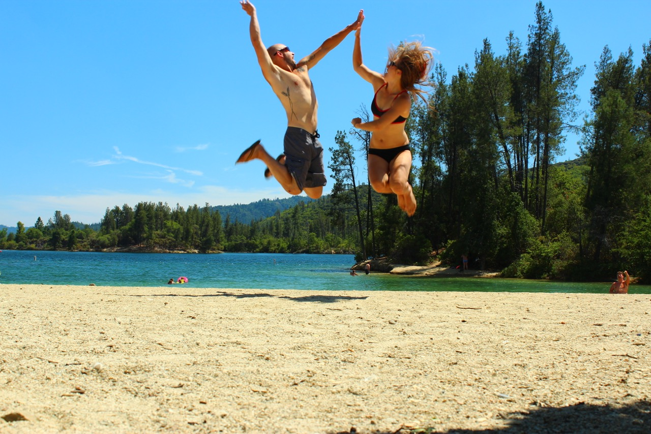 8000 miles trip - WhiskeyTown Lake, California, USA