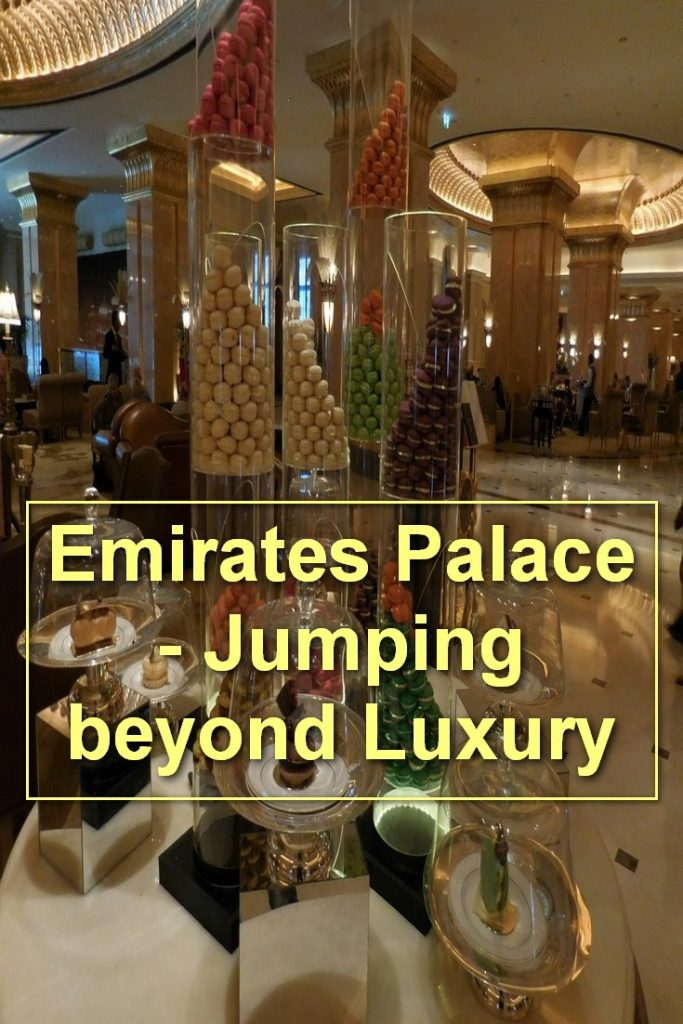 Emirates Palace, Abu Dhabi, UAE, French Macaroons on Display