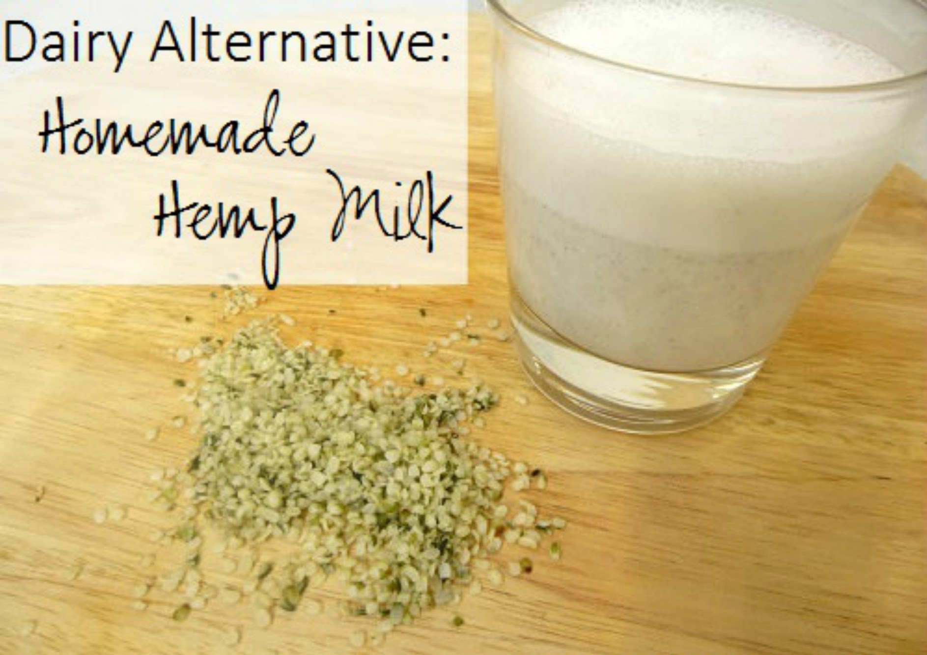 Hemp Seeds, Hemp Milk, Youtube Image, Nutrition, Dairy Alternative