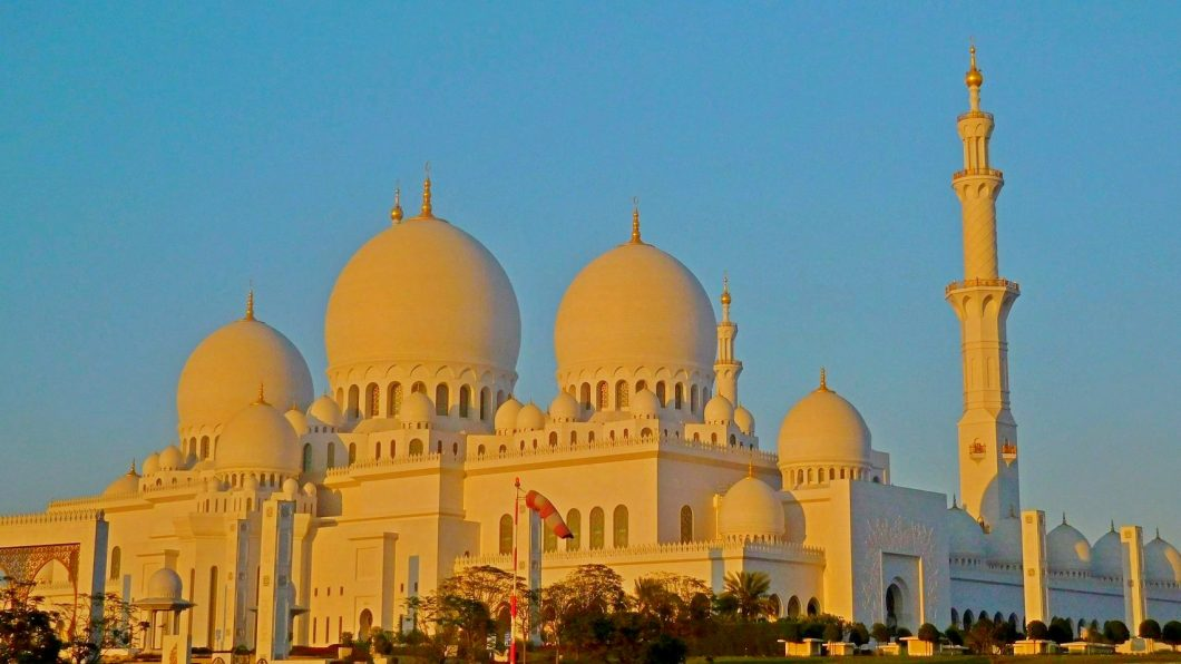 Sheikh Zayed Grand Mosque, Abu Dhabi, Featured Image