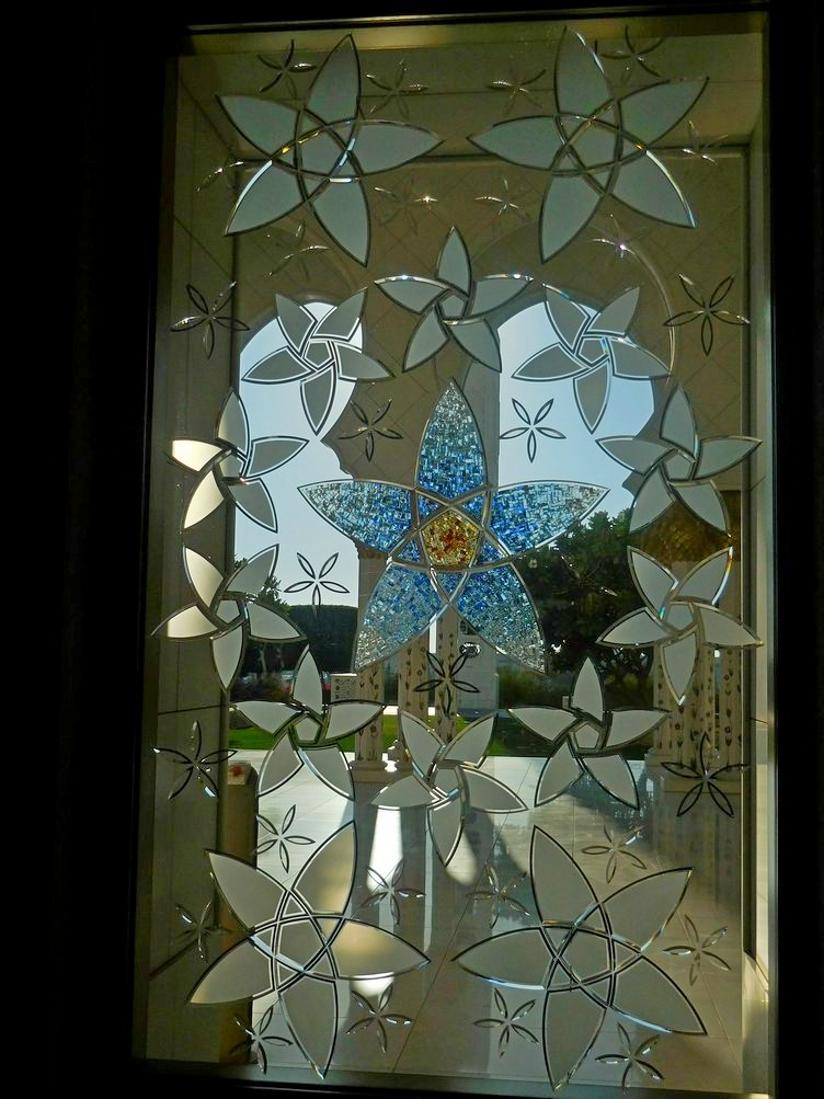 Sheikh Zayed Grand Mosque, Abu Dhabi, UAE, Magnificent Elongated Windows
