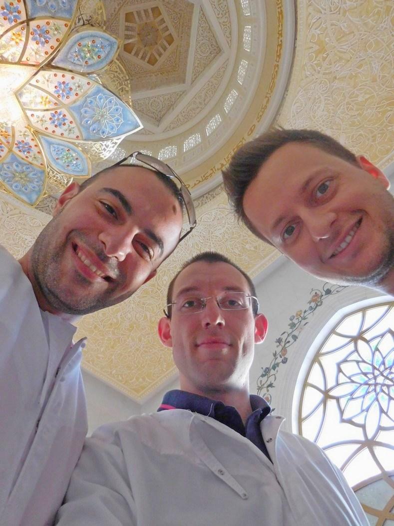 Sheikh Zayed Grand Mosque, Abu Dhabi, UAE, Stiliyan, Svet, Tsvetan, Selfie