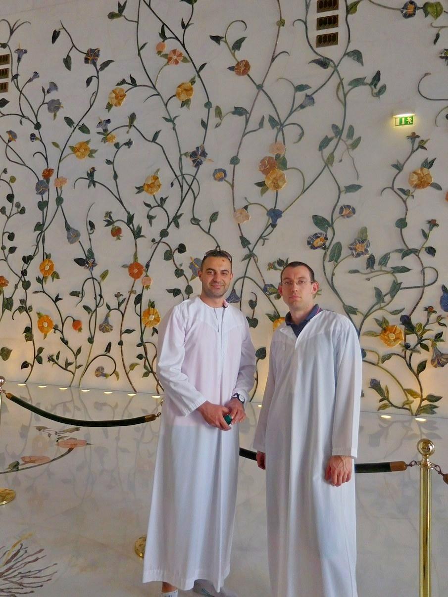 Sheikh Zayed Grand Mosque, Abu Dhabi, Rich Wall Ornaments