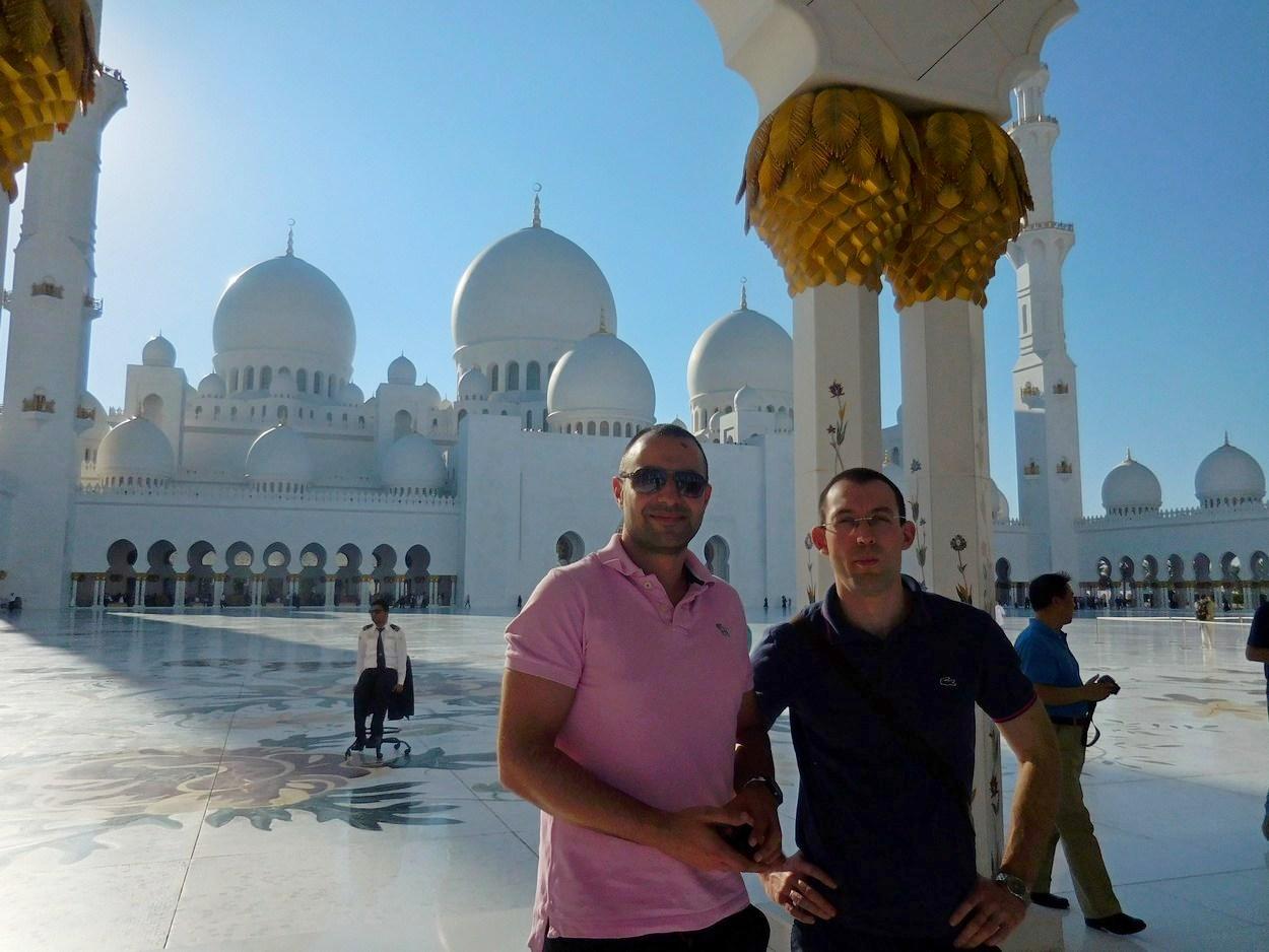 Sheikh Zayed Grand Mosque, Abu Dhabi, UAE, Yard, Stiliyan and Svet