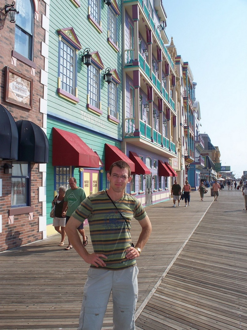 Atlantic City, New Jersey, Svet on the Boardwalk